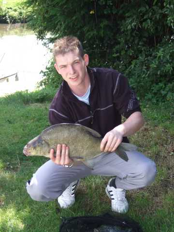 Roger Edwards 6.5 lb bream